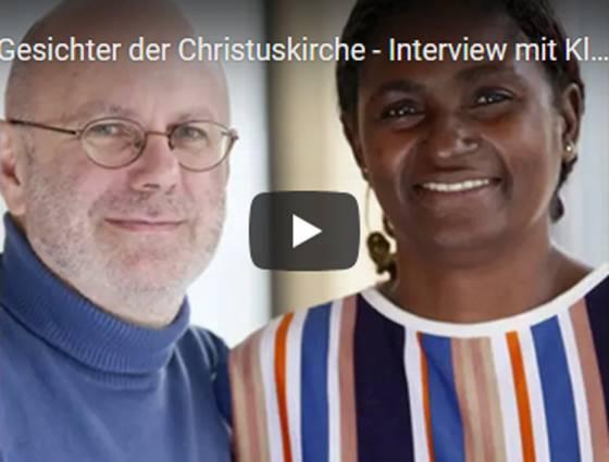 Video: Gesichter der Christuskirche mit Lumière-Cameroun